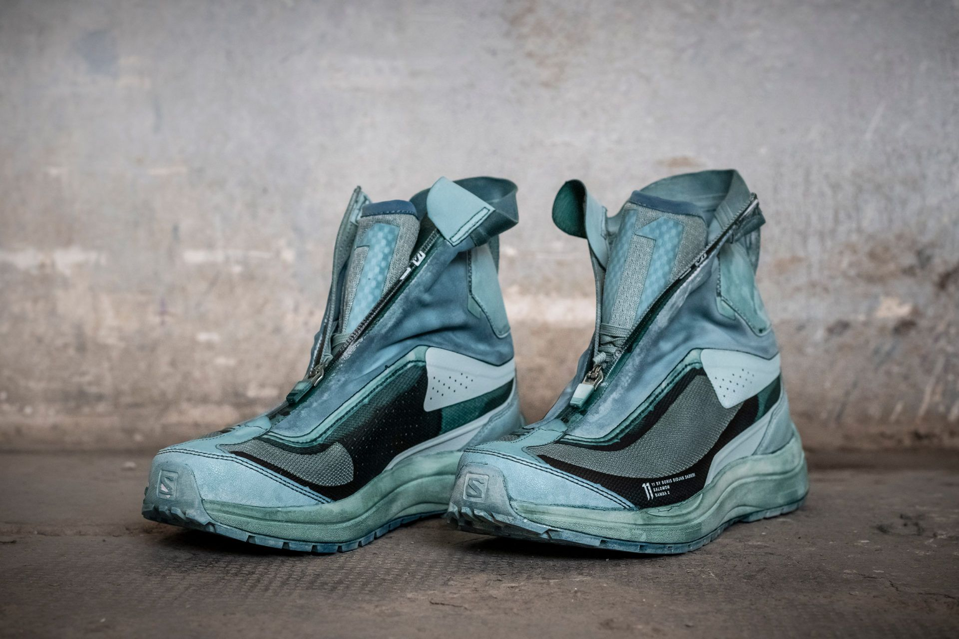 AW19 11 BY BBS Boots, Combat boots, Asics sneaker
