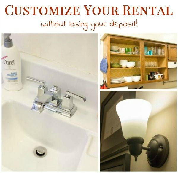 6 Ways To Customize Your Rental Without Losing Your