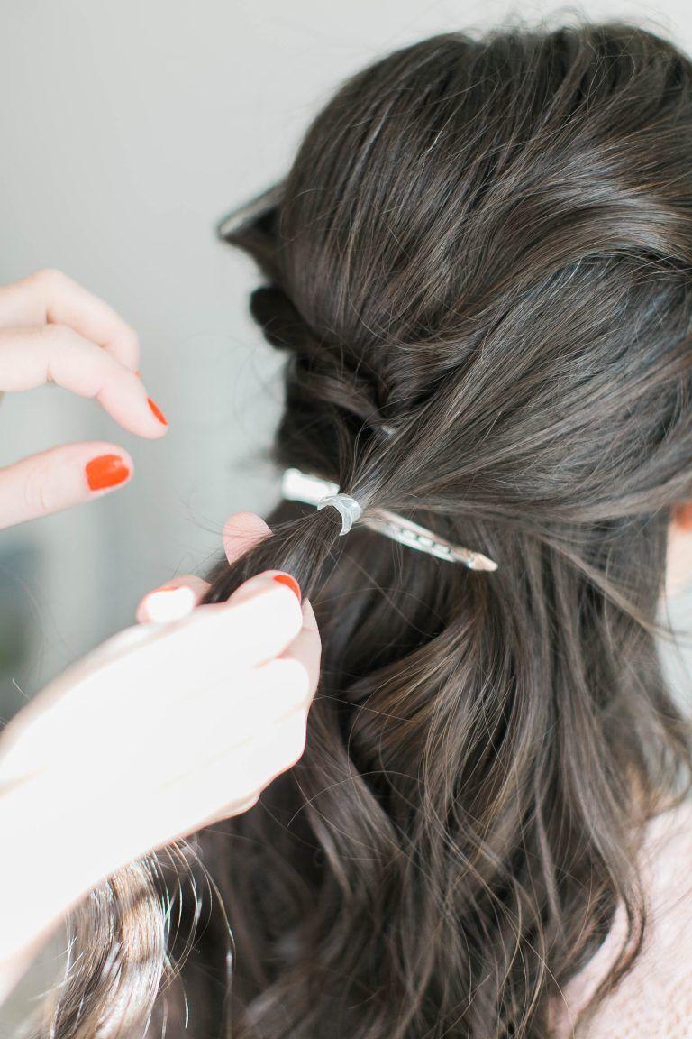 3 Step Fancy Half Up | Stylin' | Curly Hair Styles, Half Up, Hair Styles