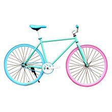 Fixed Gear 26 inch space car DIY vehicle color fly pour brake die down ride a bicycle to live mountain bike road bike bicicleta $23967,82