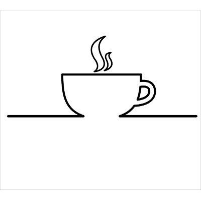 Adesivo Decorativo Cafe Xicara Cozinha Lanchonete Cafeteria R
