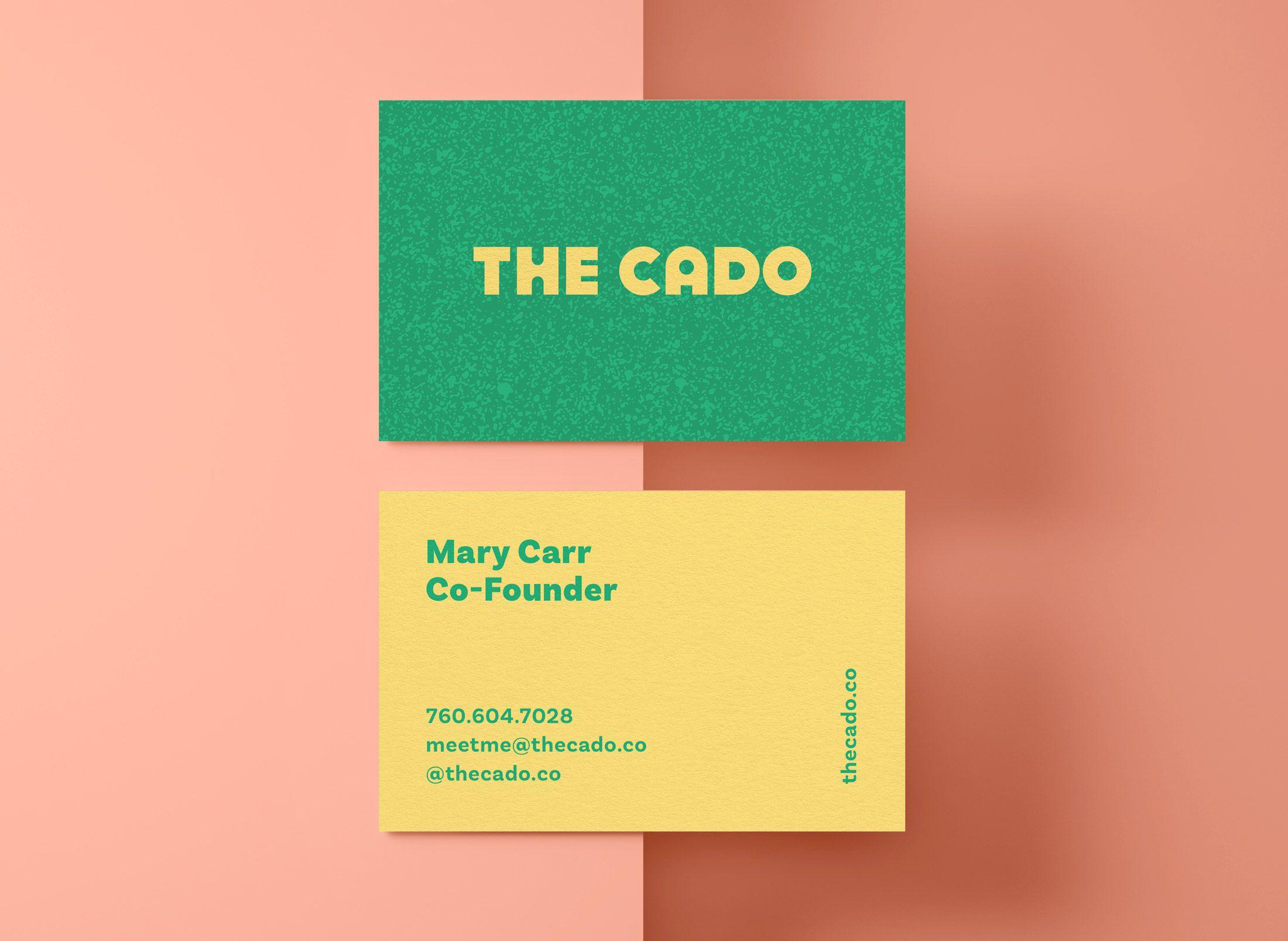 The Cado brand identity by Cristie Stevens #InspoFinds | print ...
