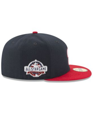 finest selection 9073d ff3cb New Era Boys  Washington Nationals Washington All Star Game Patch 59FIFTY  Fitted Cap - Navy Red 6 3 8