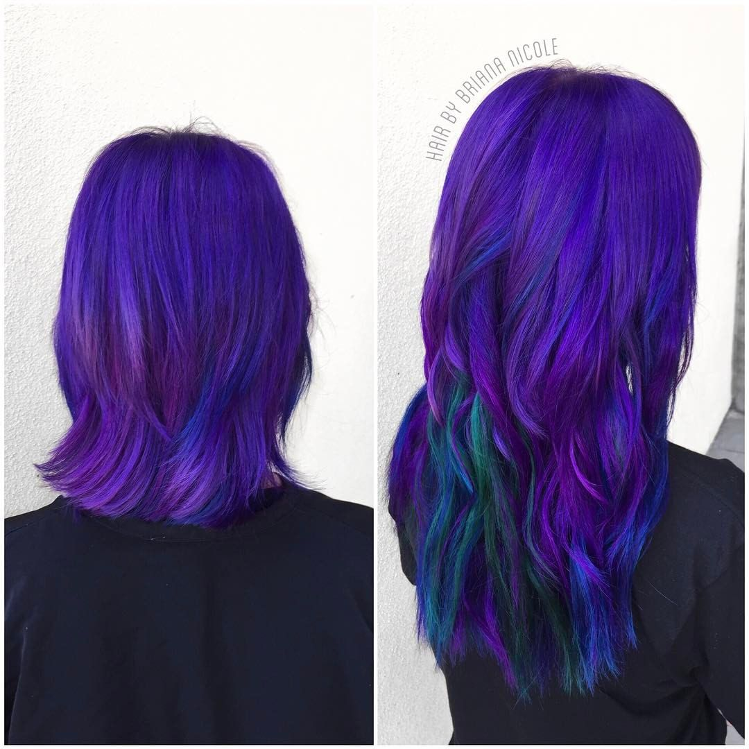 Hairbybriananicole before after custom colored extensions hairbybriananicole before after custom colored extensions unicorn hair mermaid pmusecretfo Choice Image