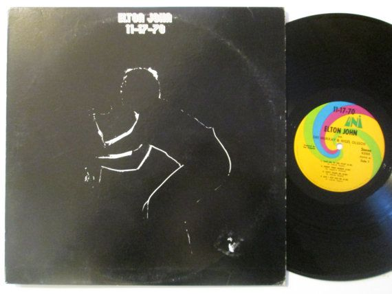 Vinyl Record Elton John 11 17 70 Vinyl Record Lp Album Vinyl Records Lp Albums Records