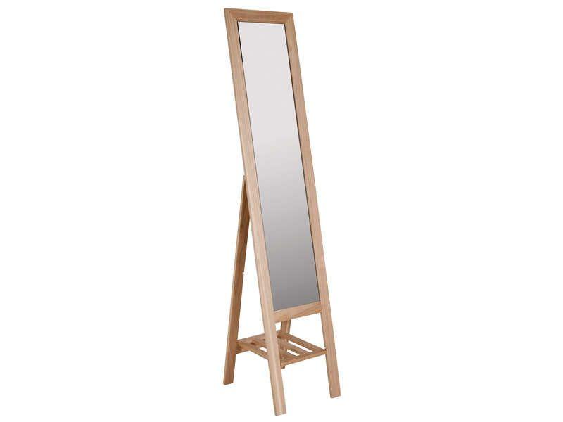 miroir avec rangement 35x170 cm standing vente de miroir sur pied et psych conforama. Black Bedroom Furniture Sets. Home Design Ideas