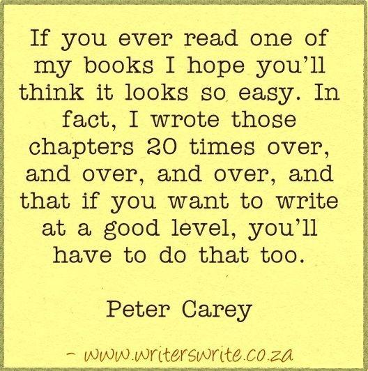 Quotable - Peter Carey