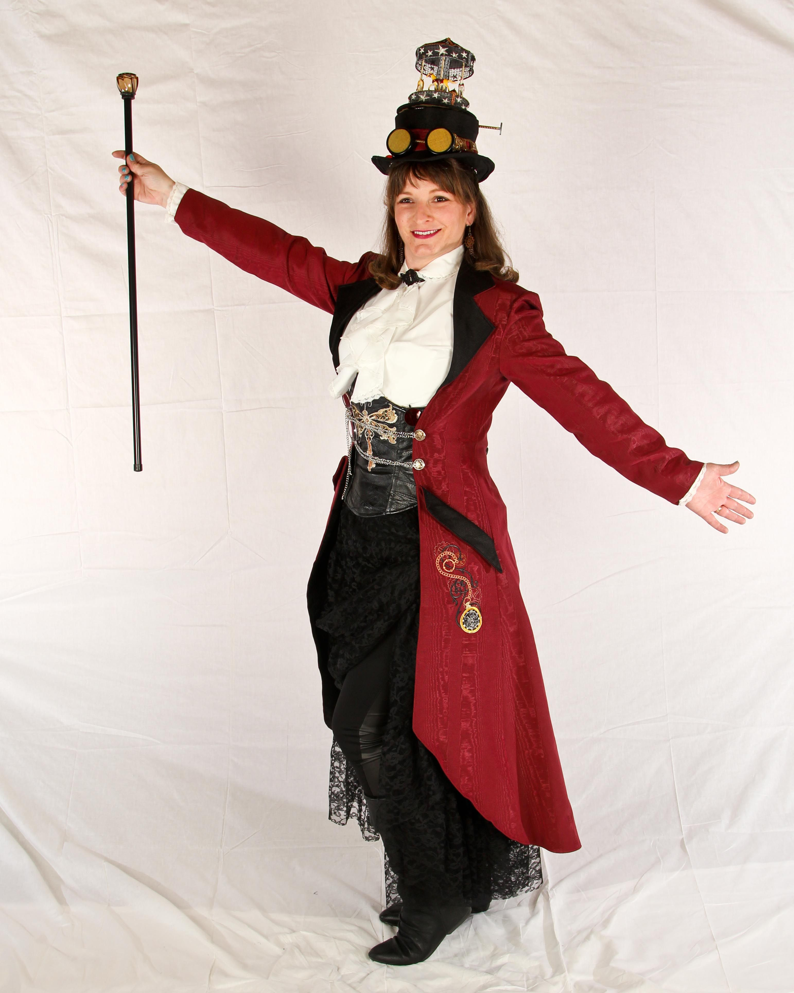 Steampunk Circus Ringmaster Ringmaster Costume Costume Outfits Steampunk Circus