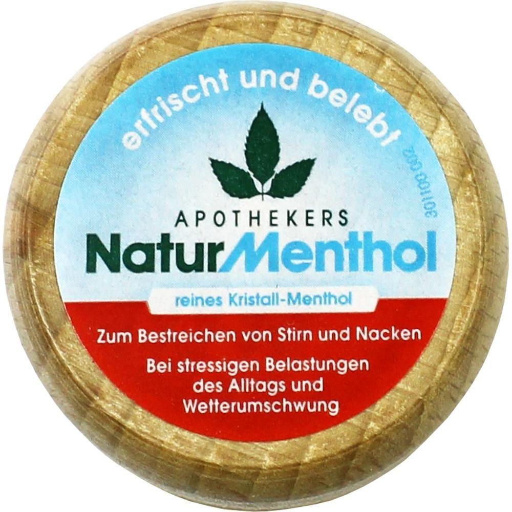 APOTHEKERS Naturmenthol:   Packungsinhalt: 1 St Trockensubstanz ohne Lösungsmittel PZN: 07206957 Hersteller: Dr.R.PFLEGER GmbH Preis:…