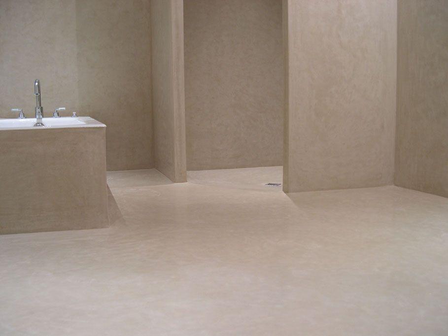 tadelakt badkamer - Google zoeken | Salle de bain combles ...