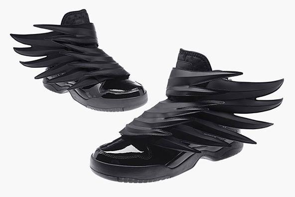 new concept a908b 77ba4 tenis adidas con alas de demonio