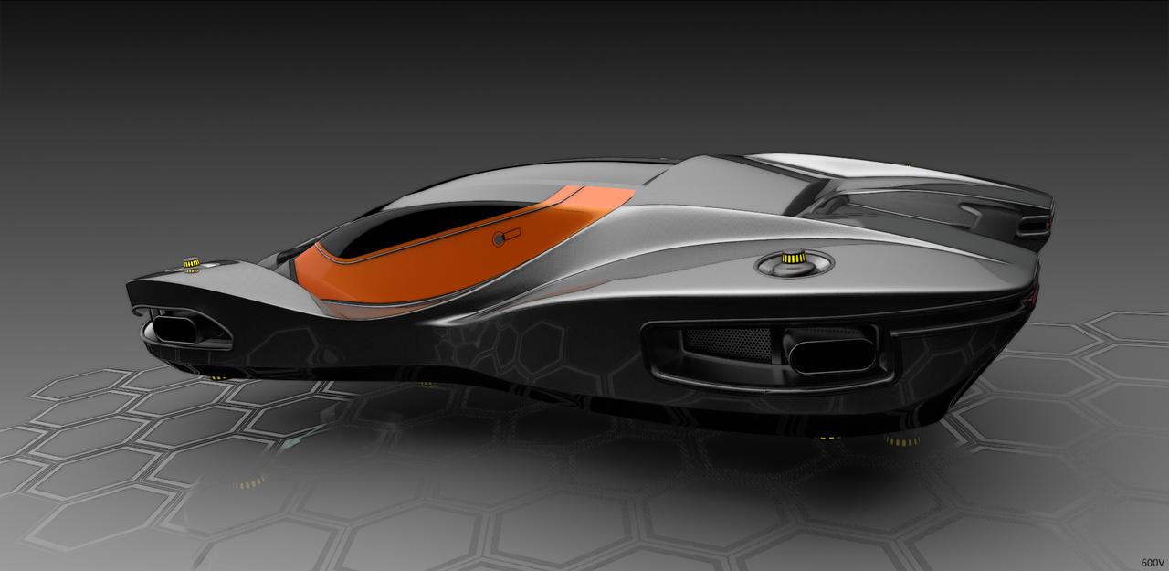 Nfz Quaid 3 By 600v On Deviantart Flying Car Hover Car Futuristic Cars