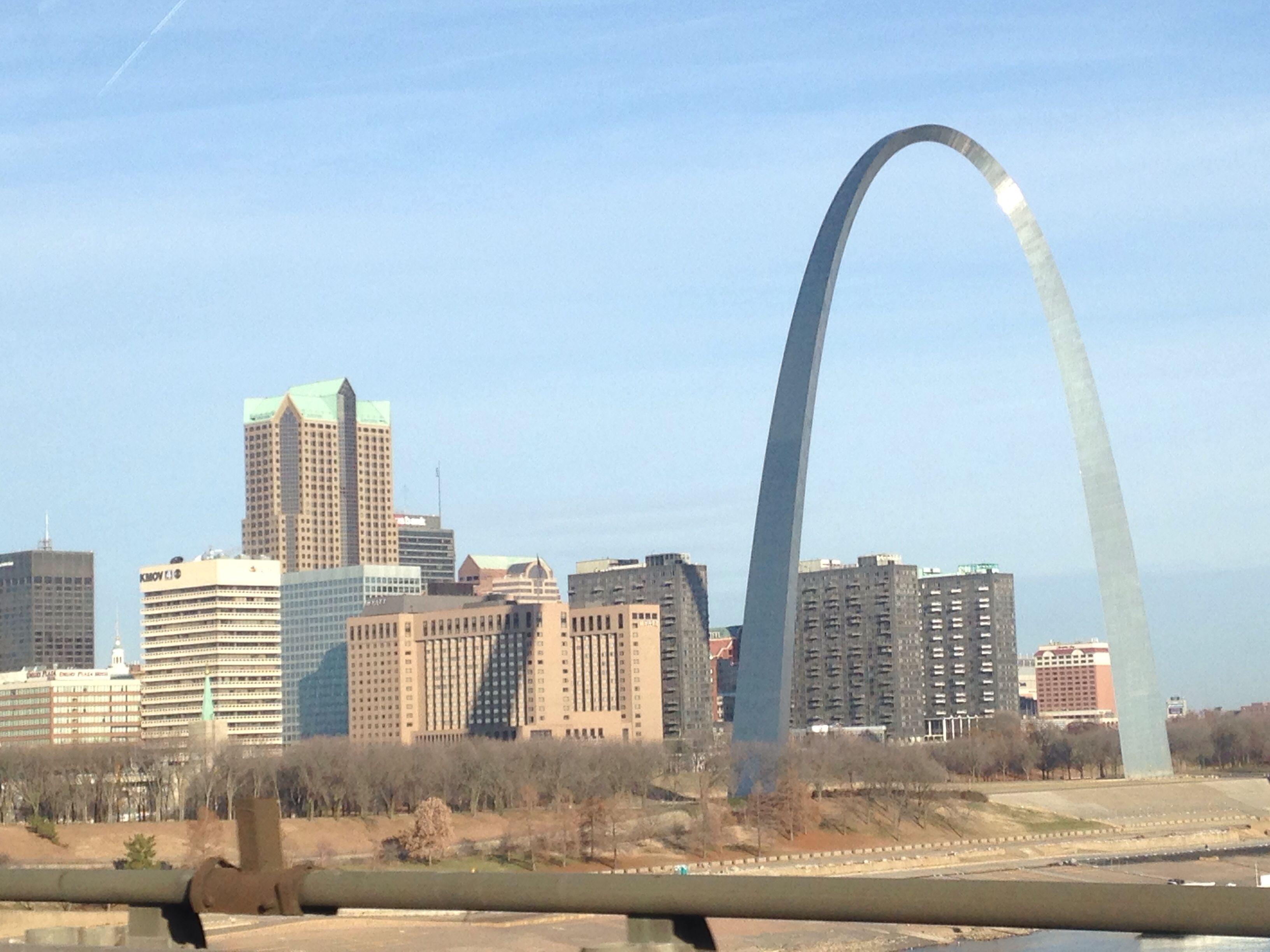 Hello St Louis San francisco skyline, St louis, Skyline