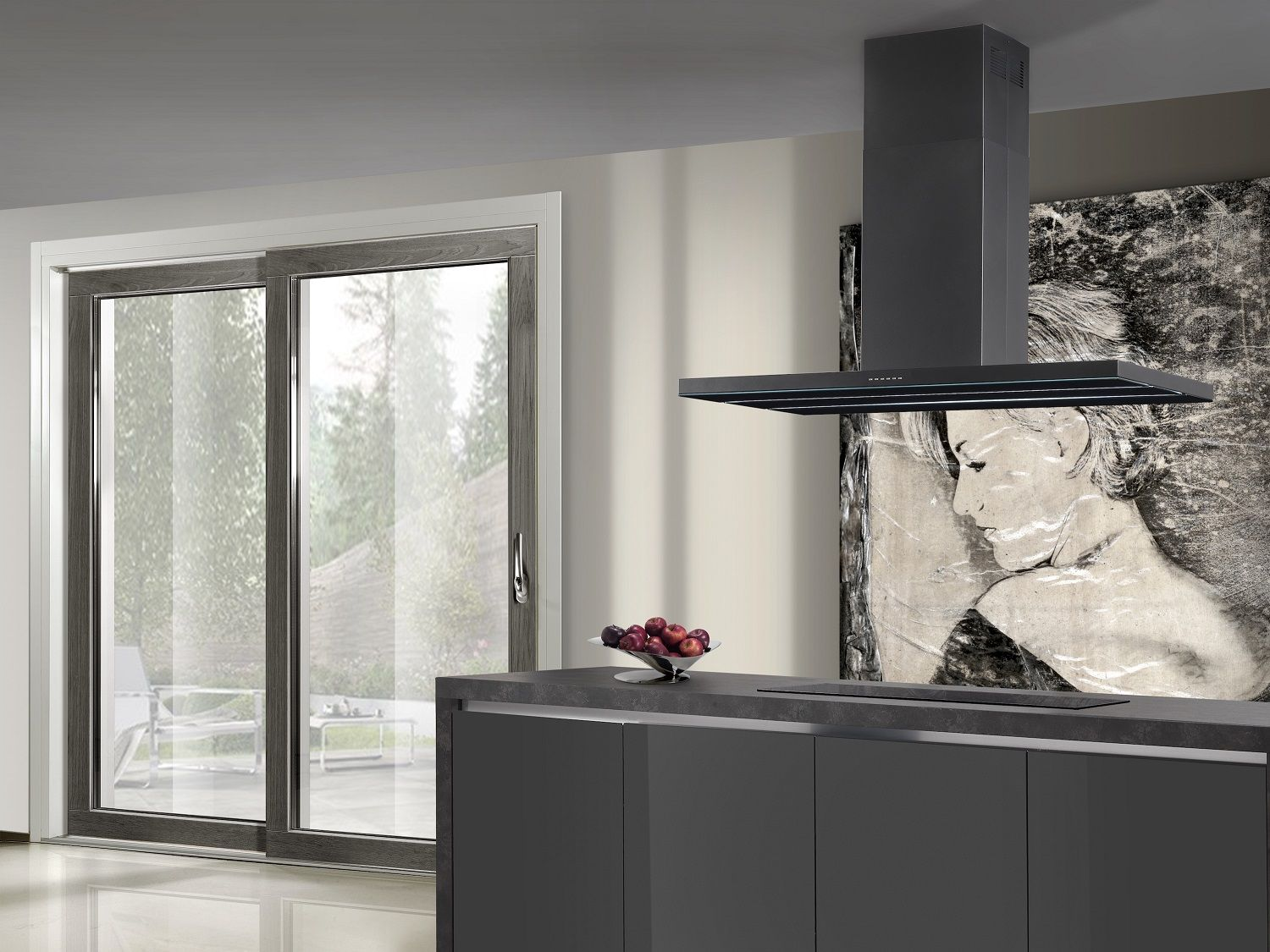 AIRUNO expands Collection of Island Hoods Kitchens