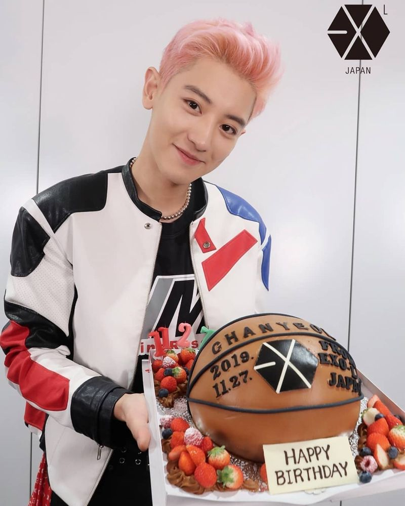 Chanyeol For His Birthday Celebration 191127 Ulang Tahun Exo Chanyeol