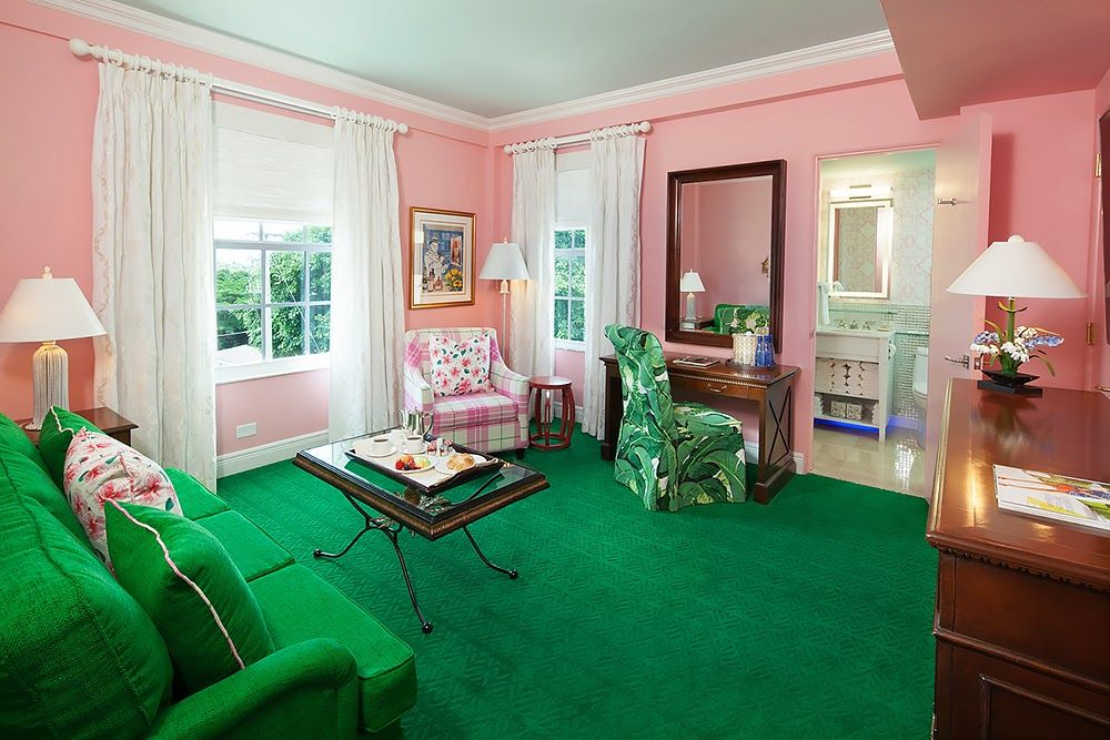 Carleton Varney Colorizes The Colony Hotel The Glam Pad Colony Hotel Palm Beach The Colony Hotel Interior