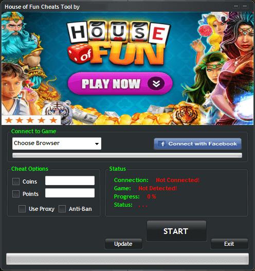 House Of Fun Generator