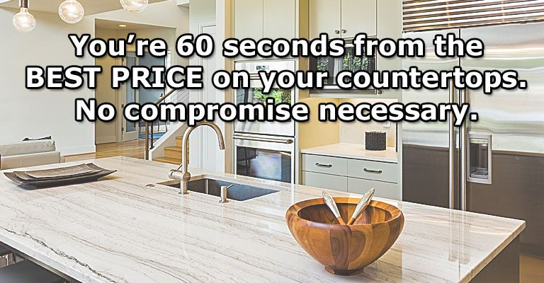 You're 60 Seconds Away From The Countertop You've Been Dreaming Of