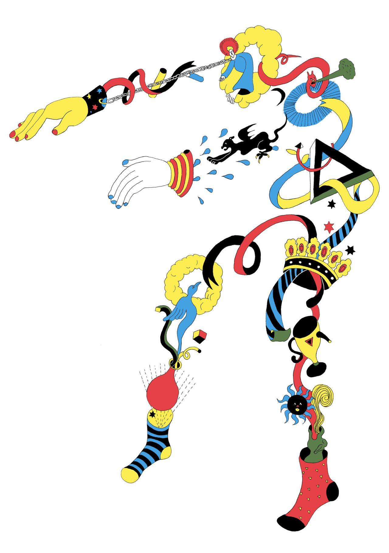 """inzpired: """" pizzzatime: """" wakanayamazaki: 「オカルト2」2013 """" Art+Design+Fashion+Interiors @ inzpired.tumblr.com """""""