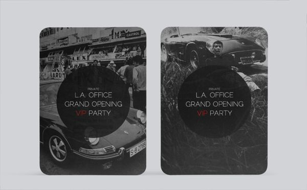 RM Auctions LA Office Grand Opening Invitation by Aaron - best of invitation samples for inauguration