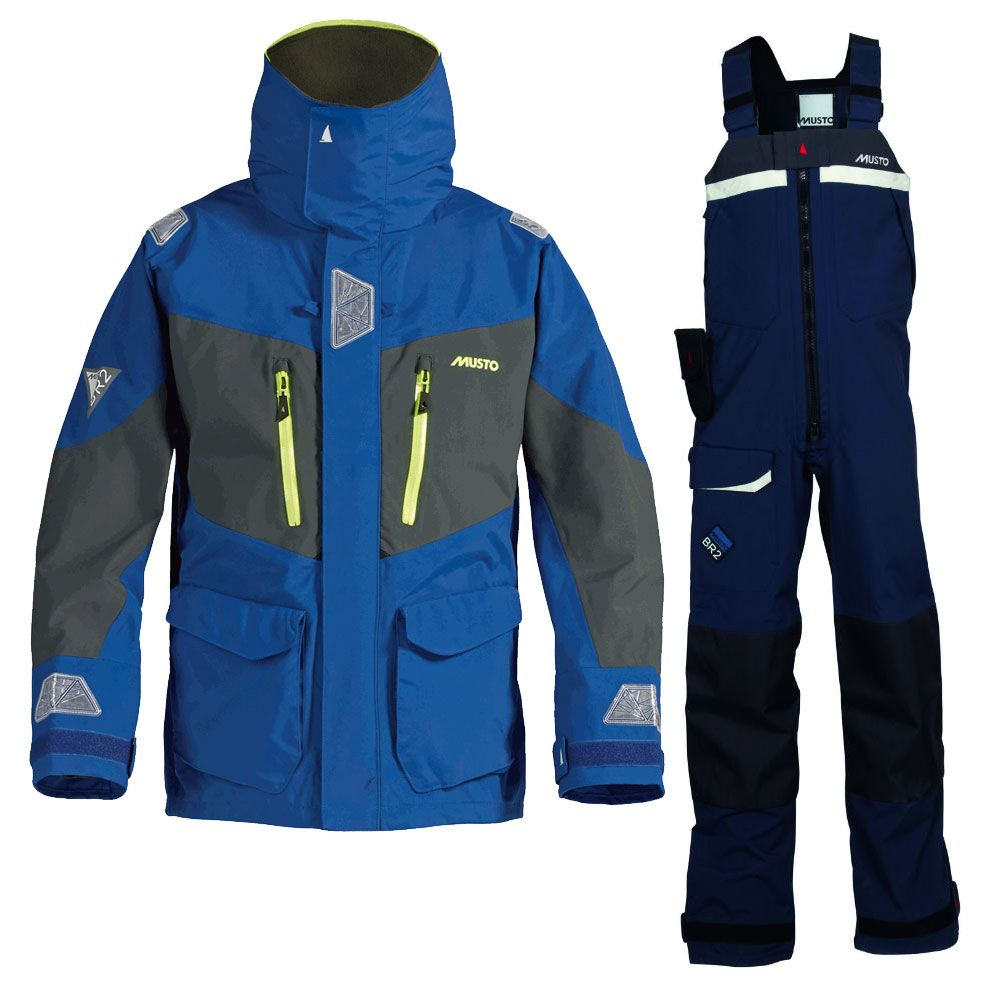 Sailing clothing sailing trousers amp shoes for men sailing clothes - Musto Br2 Offshore Suit Foul Weather Gear Marine Super Store
