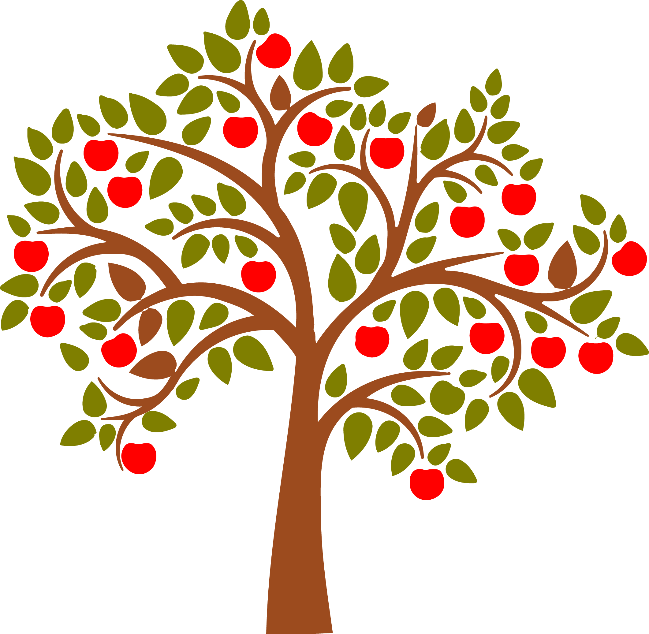 apple tree wall decal apples stenciling and journaling rh pinterest ie
