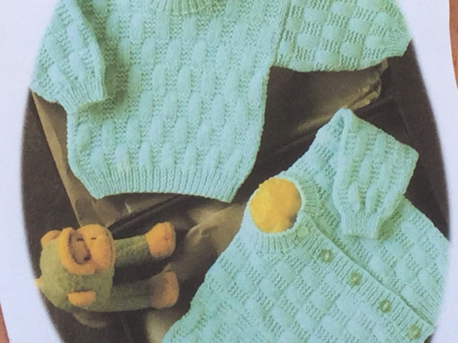 Ukeu seller vintage baby knitting pattern stylecraft 4649 sweater ukeu seller vintage baby knitting pattern stylecraft 4649 sweatercardigan easy knit premature size fits chest 12 22 30 56cms bankloansurffo Image collections