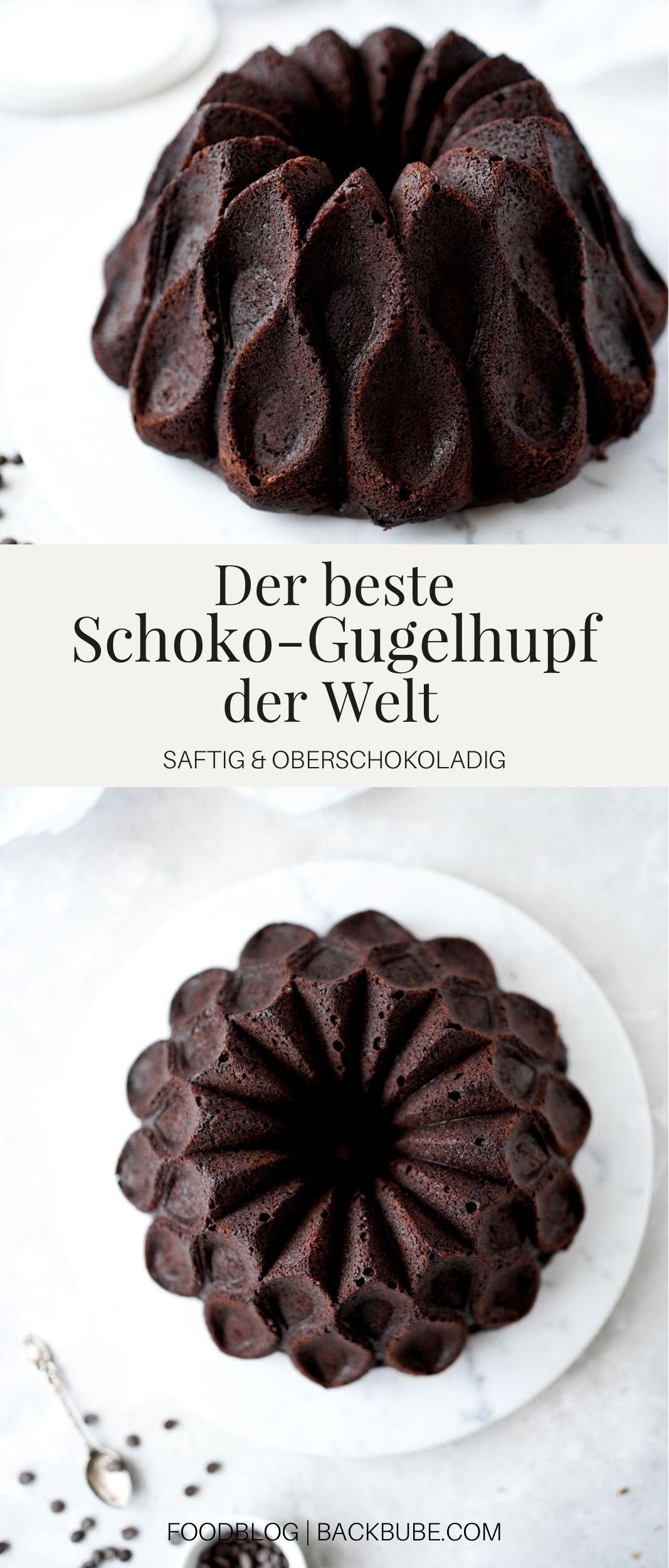 Photo of Der beste Schokoladen-Gugelhupf der Welt — Backbube