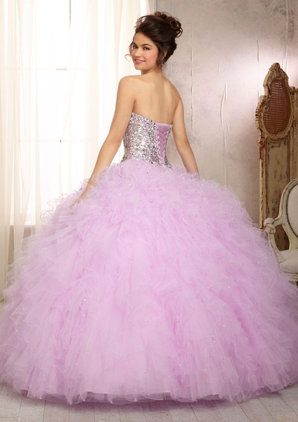 Quinceanera Dress From Vizcaya By Mori Lee Style 88081 Elaborately ...