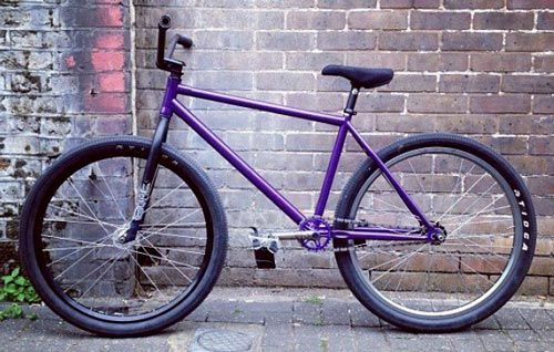 the perp 26 fixed freestyle frame