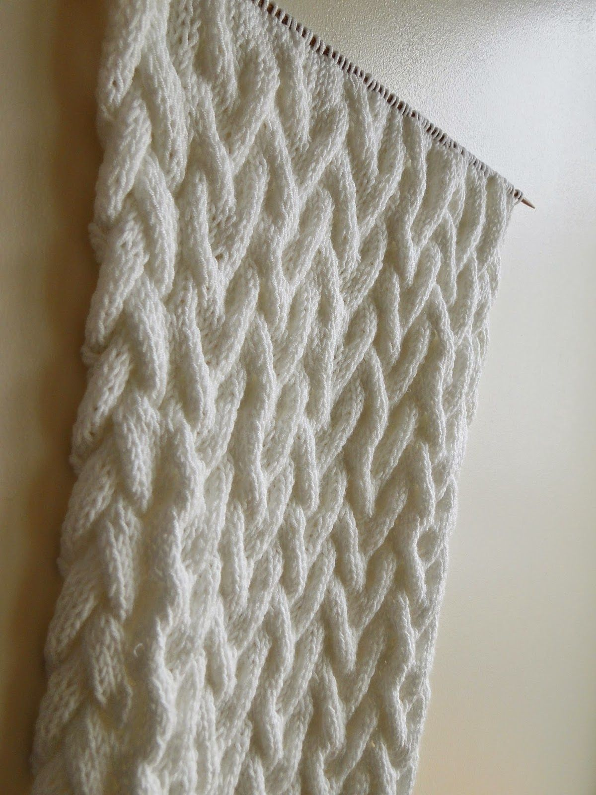 3 Rabbits Patterns: White Cabled Cowl Knitting Pattern | Knit Cowls ...