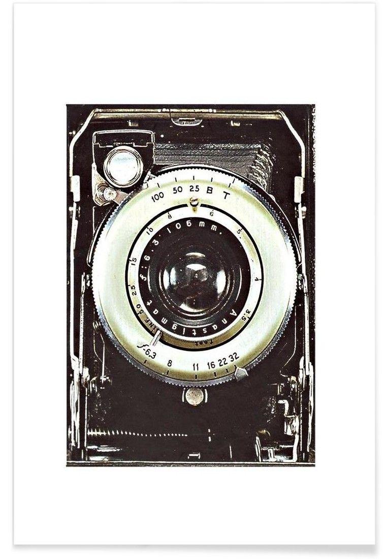 Smile vintage camera VON Rococco LA now on JUNIQE! | Bilder, Rahmen ...