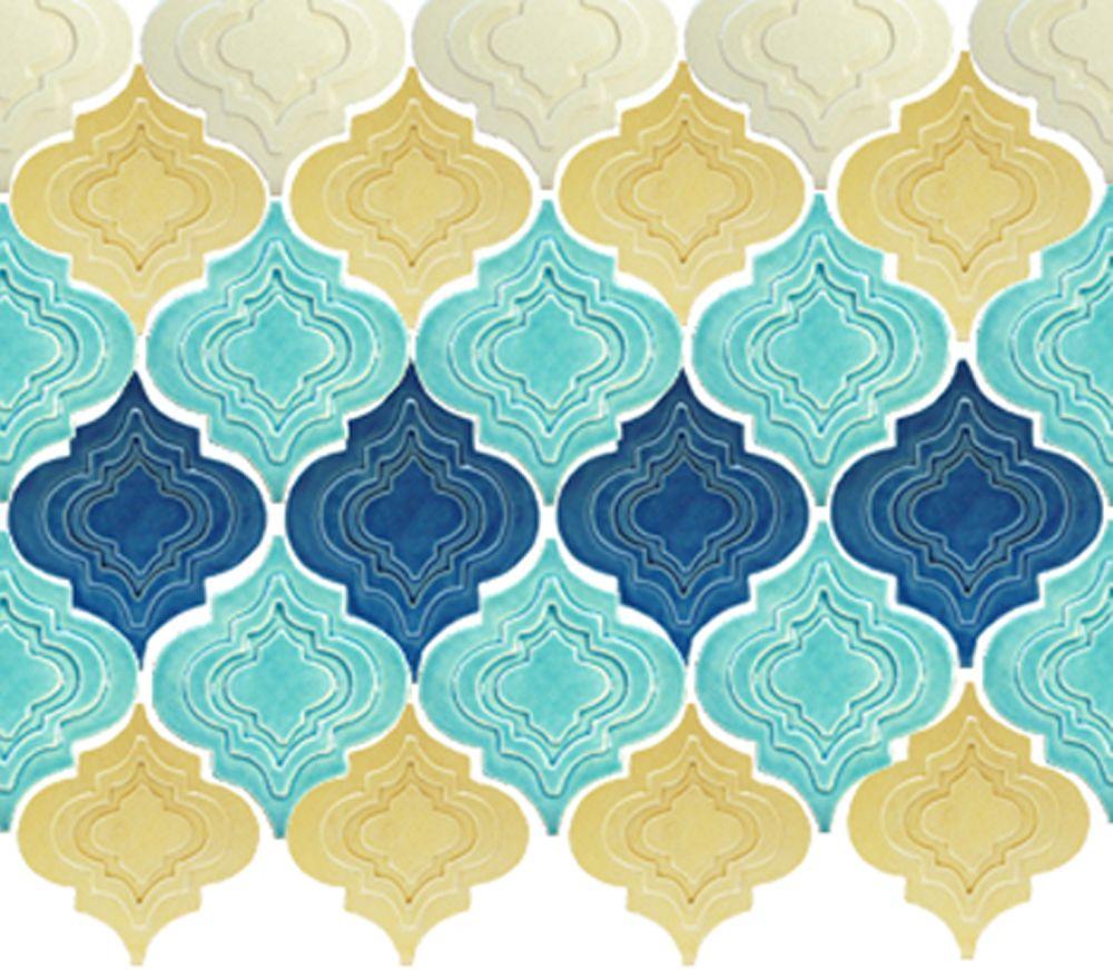 American Handmade Arabesque tile from Fay Jones Day in Oregon. shown ...
