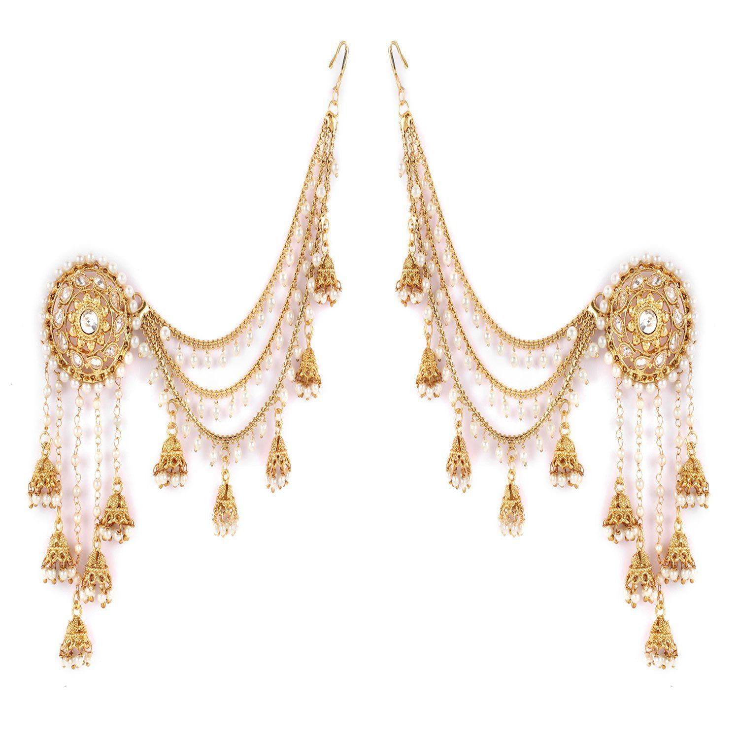Shining Diva Fashion Gold Plated Fancy Party Wear Earring Online At Low Prices In India