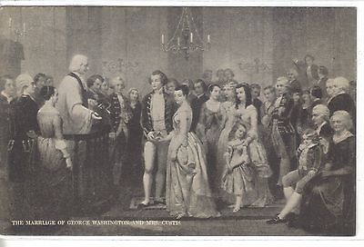 The Marriage of George Washington and Mrs. Custis