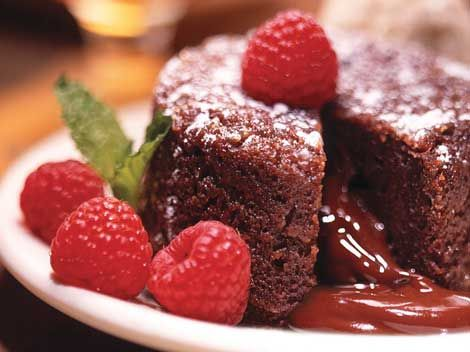 Wondrous Mortons Legendary Hot Chocolate Cake Recipe Lava Cakes Funny Birthday Cards Online Overcheapnameinfo