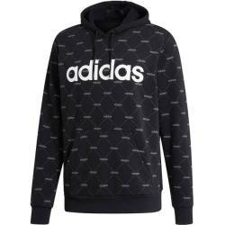 Adidas Herren Sweatshirt Linear Graphic Hoodie, Größe M in Schwarz/Grau/Weiß, Größe M in Schwarz/Gra #graphicprints
