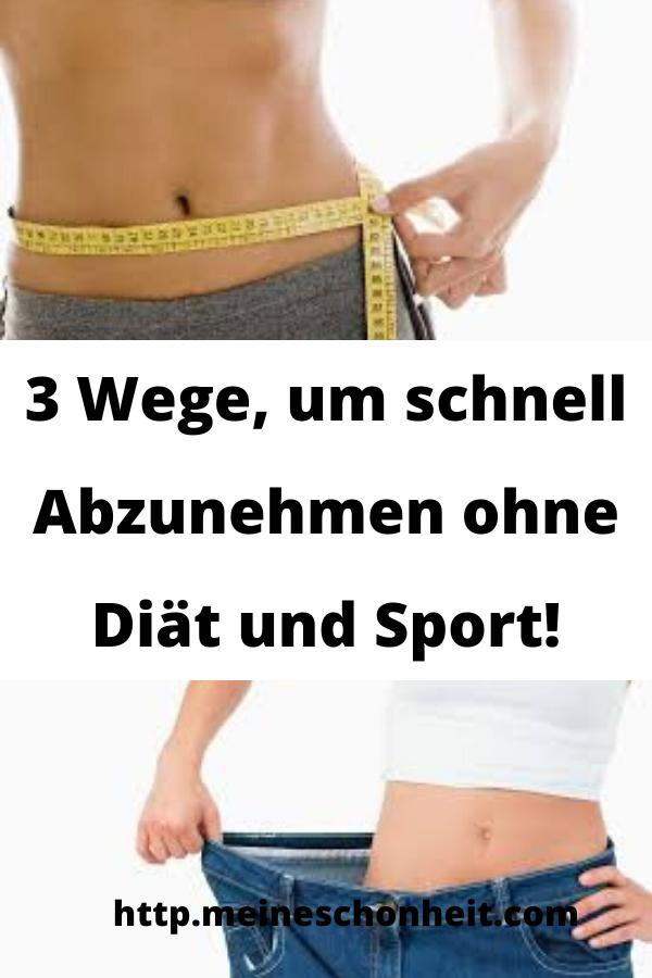 Diätplan, um den Bauch abzunehmen