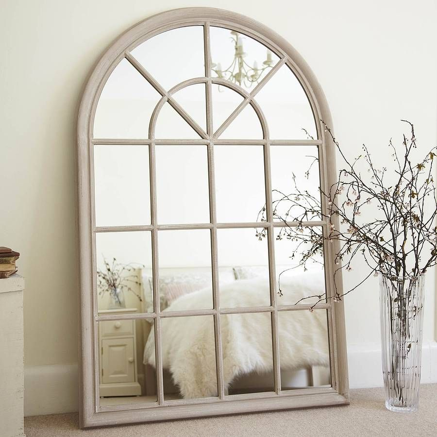 White Arched Window Mirror Arched Window Mirror Window Mirror Arched Windows