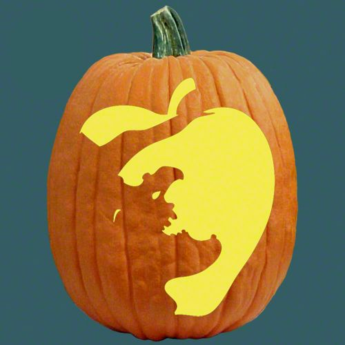"One of 700+ FREE stencils for pumpkin carving and more! www.pumpkinlady.com ""Sweet Revenge"" #FreePumpkinCarvingPattern"
