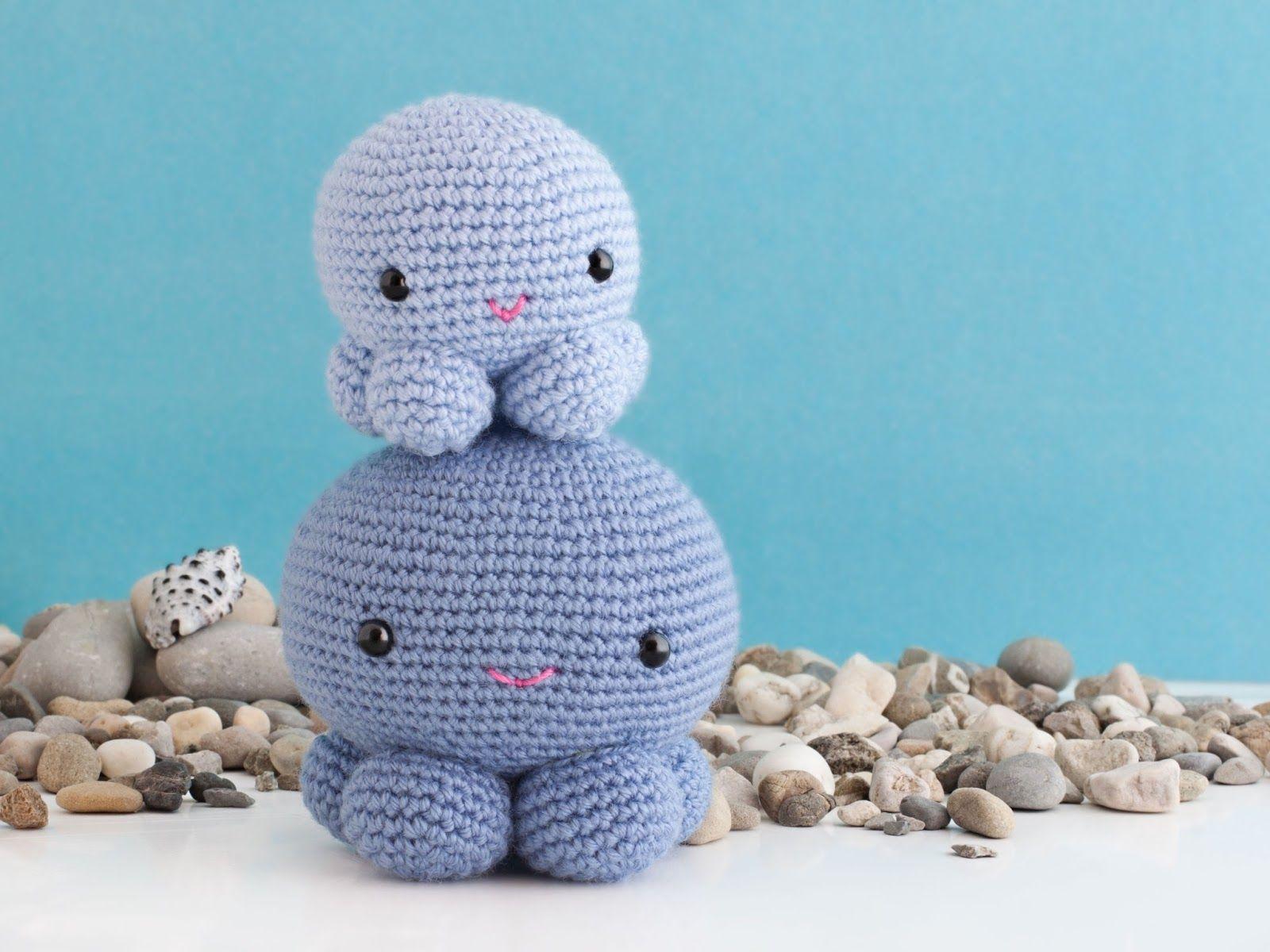 Tutorial Amigurumi : Amigurumi octopus free crochet pattern tutorial amigurumi
