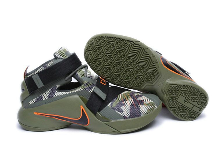 huge discount 1e993 bd179 Free Shipping Only 69  Nike LeBron Soldier 9 Camouflage Camo Army Green