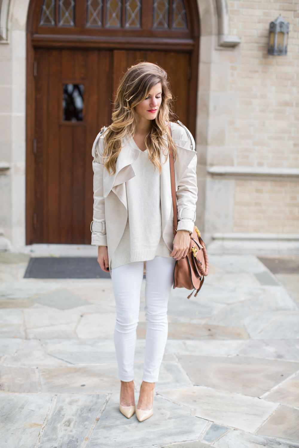 Wearing Winter White - Winter white outfit with complementary ...