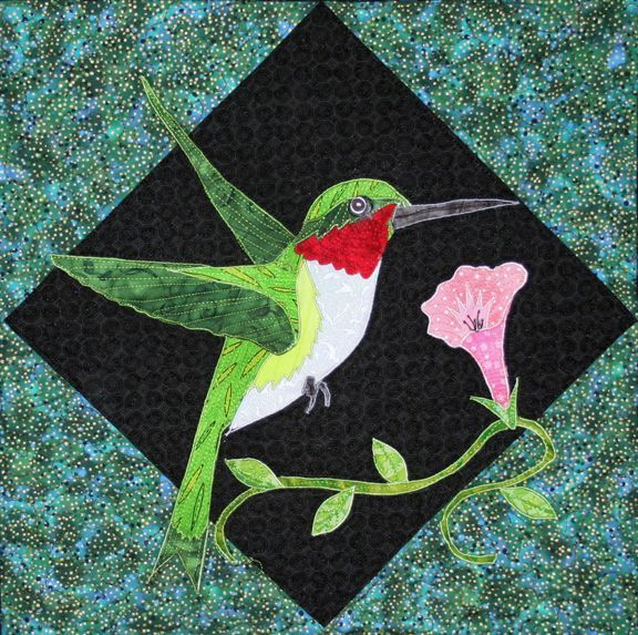Free Hummingbird Quilt Patterns - Bing images | Quilts | Pinterest ... : hummingbird quilts - Adamdwight.com