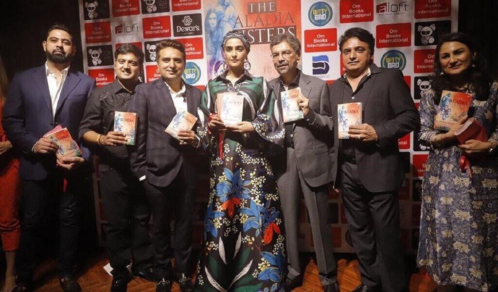 Sonam K Ahuja Launched Khalid Mohamed S Debut Novel The Aladia Sisters By Om Books International At Toy Room Club Aloft Hotel New Delhi Aerocity Novels Product Launch Bollywood News