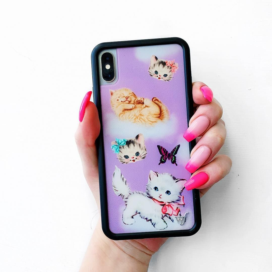 Wildflower Cases On Instagram New Release Kittens Now Available For Iphone 6 7 8 6 Wildflower Cases Wildflower Phone Cases Tumblr Phone Case