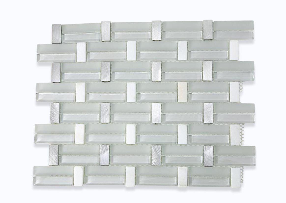 Trestle super white glass tile shop tiles at glasstilestore com also