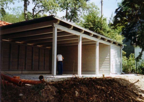 Google image result for for Carport with storage shed plans