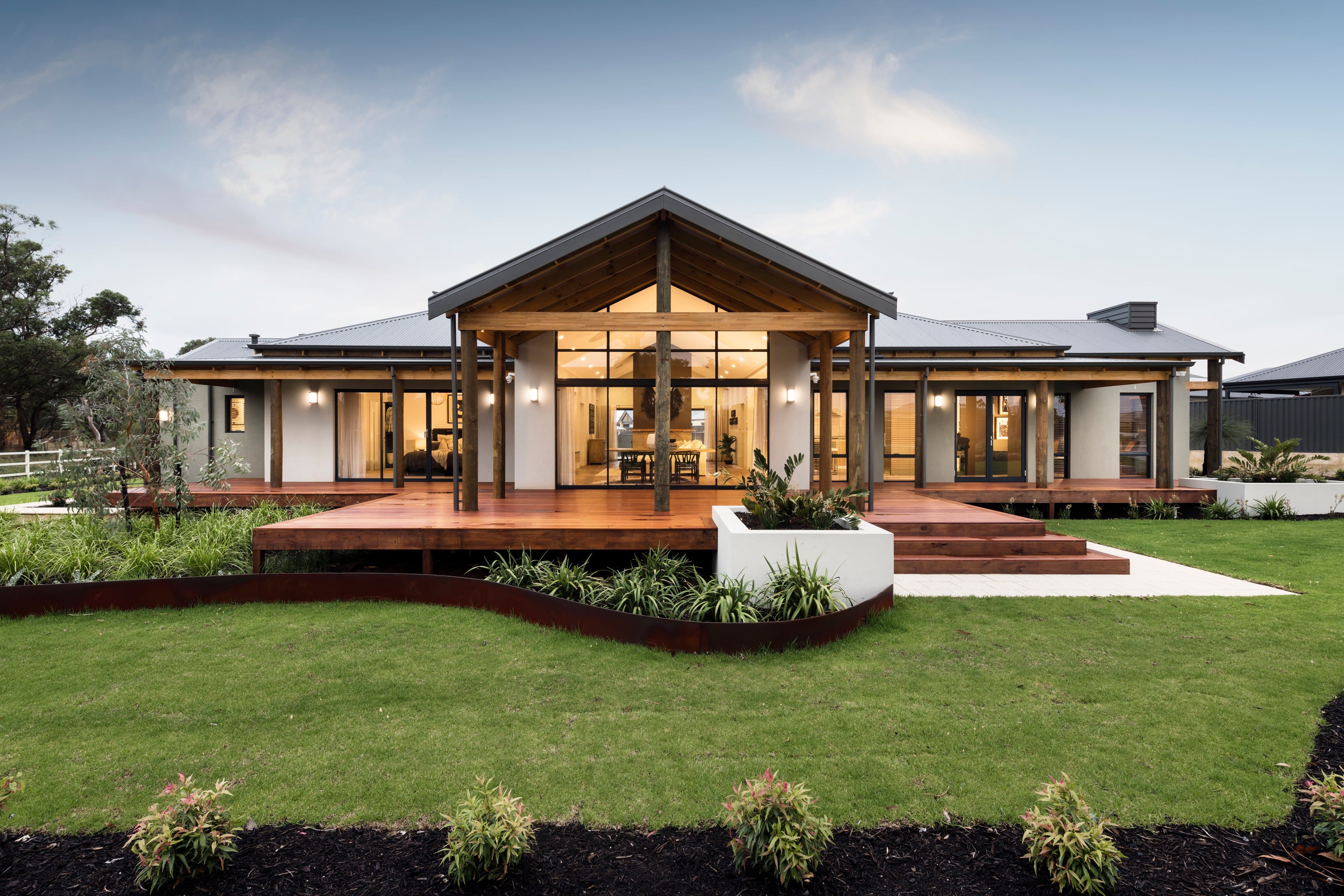 The Karridale Retreat House Designs Exterior Country Home Exteriors Modern House Exterior