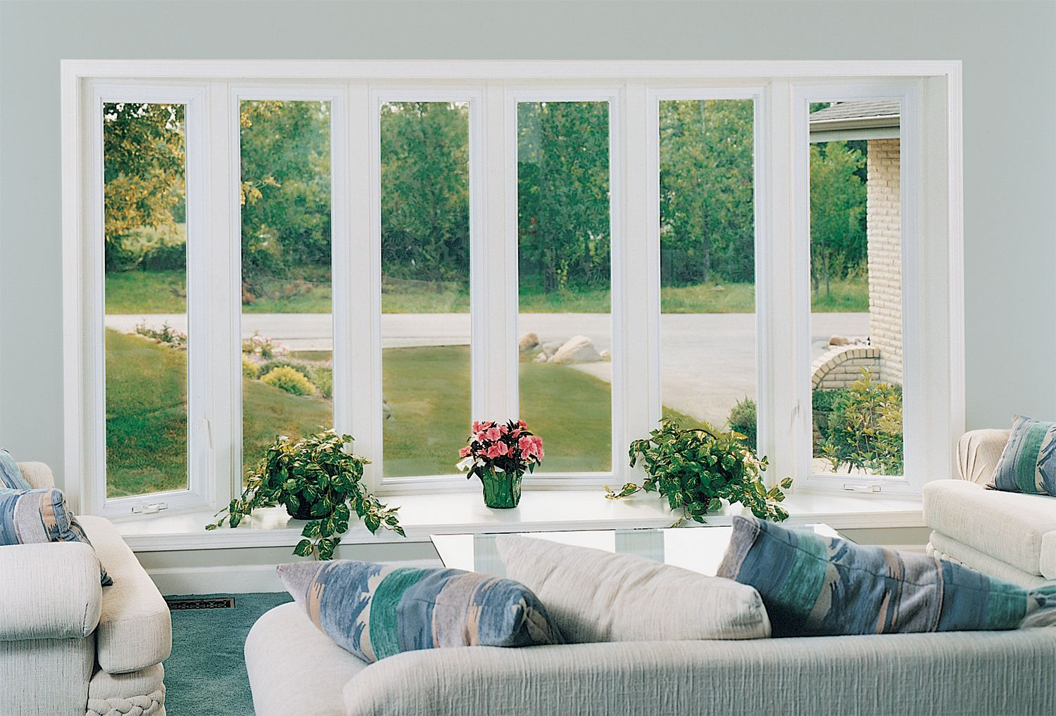 Provia aspect all vinyl replacement windows come in a for Top 5 replacement windows